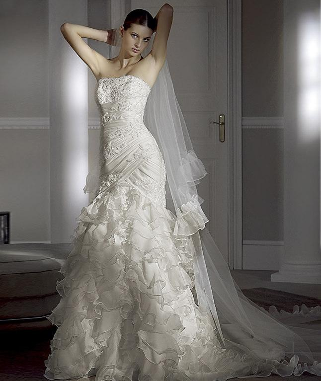 Wedding dresses modern bridal dress