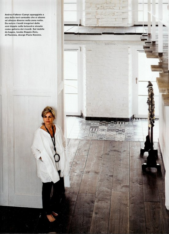 vosgesparis an industrial white home designed by paola navone. Black Bedroom Furniture Sets. Home Design Ideas