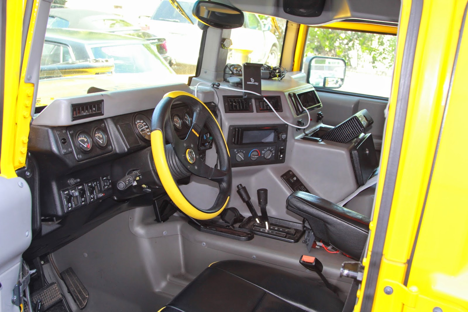 This Project Is A Clean Up Of This H1 Hummer Interior.