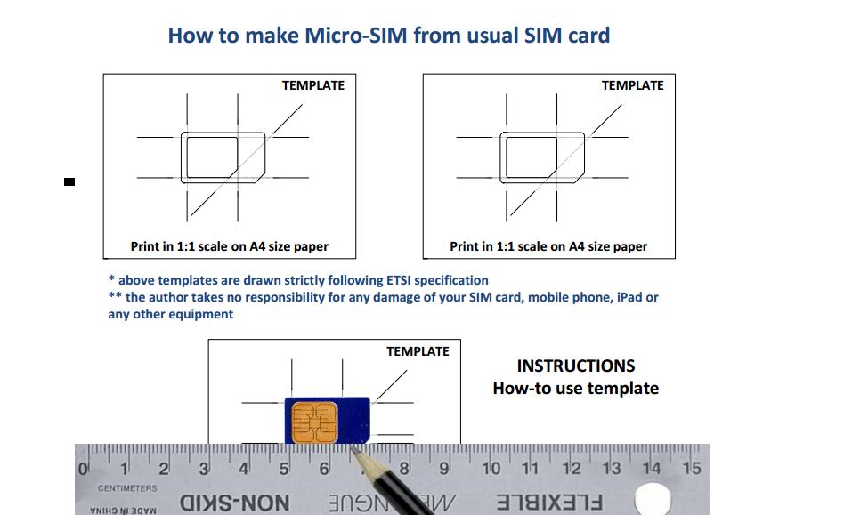 Netgeotube: Como Cortar Mini-Sim Card E Transformá-Lo Em Micro-Sim