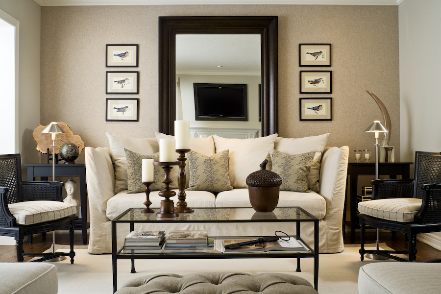 best large mirror decorating ideas images - design and decorating