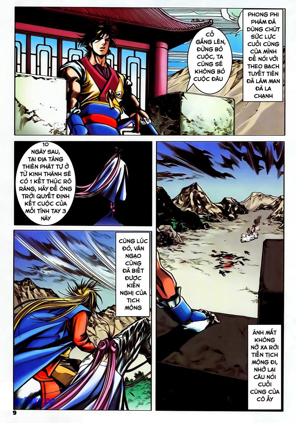 Lục Đạo Thiên Thư chap 37 - Trang 9