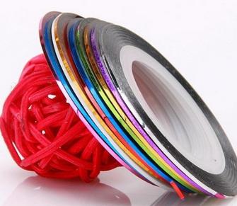cinta de uñas buyincoins colores