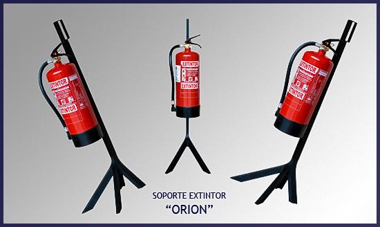 Soporte de extintor serie ORION