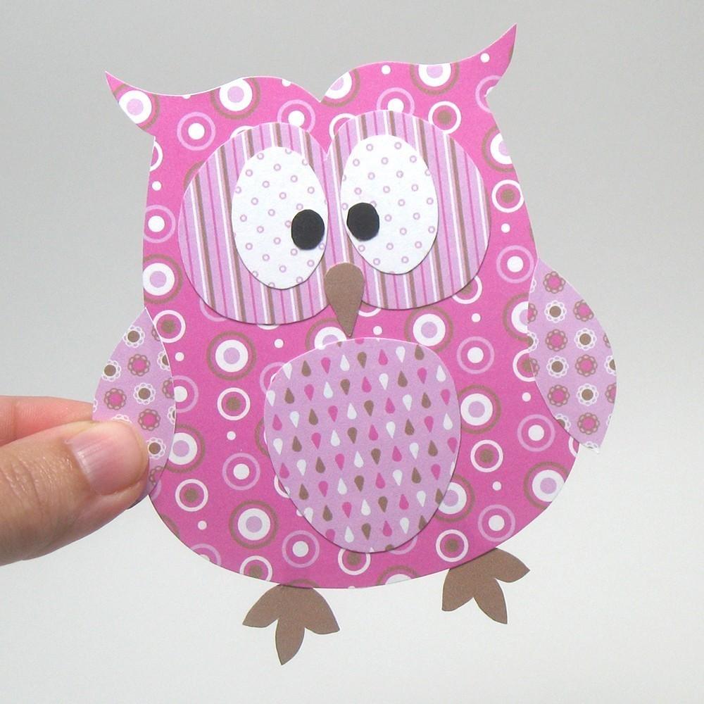 paper owl craft paper crafts