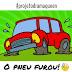 Quando o pneu do carro fura! - Projeto Drama Queen #64 – Por Carol Daixum
