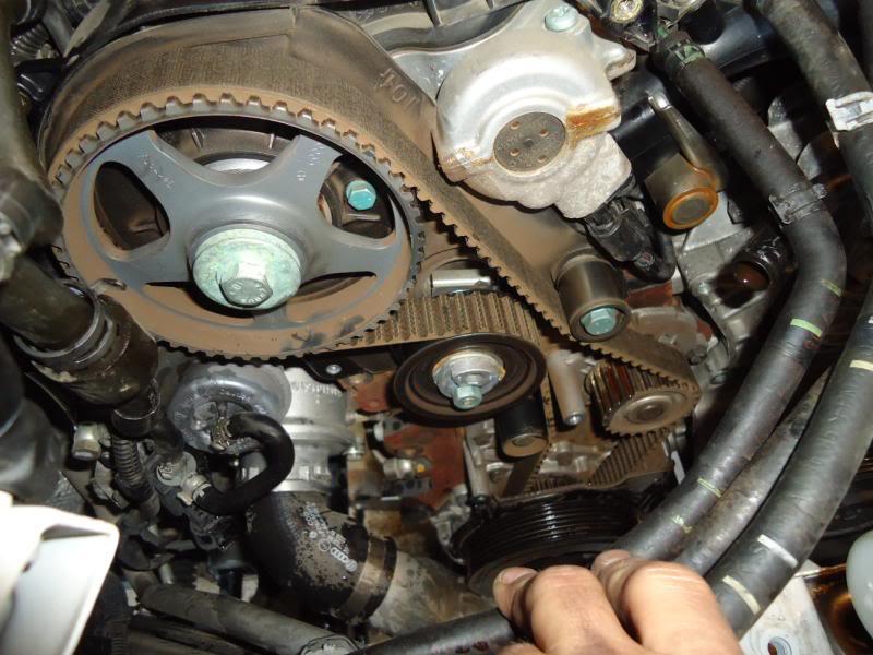 800 x 600 jpeg 77kB, 27) Remove timing belt tensioner, timing belt ...