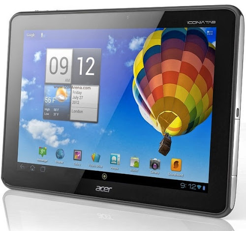 Acer Iconia A511 Tablet Android Prosesor Quad Core Nvidia Tegra 3