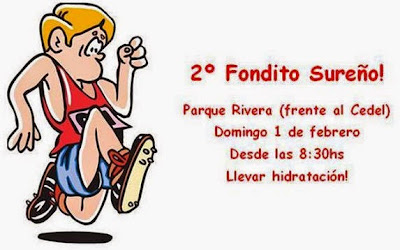 Entrenamientos - Fondo sureño en el parque Rivera (01/feb/2015)
