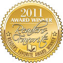 Murdering Eve - 2011 Readers Favorite Award!