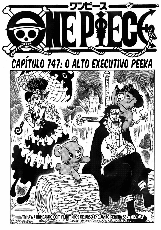One Piece 747 Português Mangá leitura online