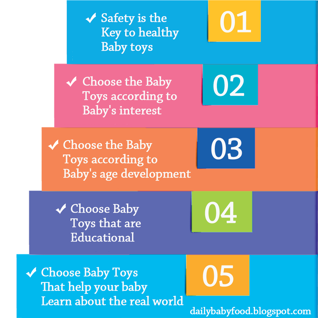 Guide To Choosing Baby Toys : Homemade baby foods