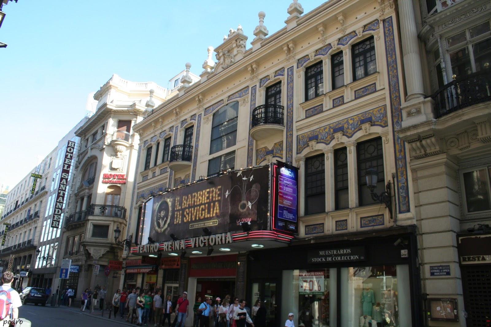 madrid teatro reina victoria On teatro reina victoria