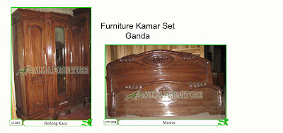 Kamar set Furniture Klender Ganda