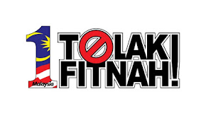 1MALAYSIA TOLAK FITNAH!