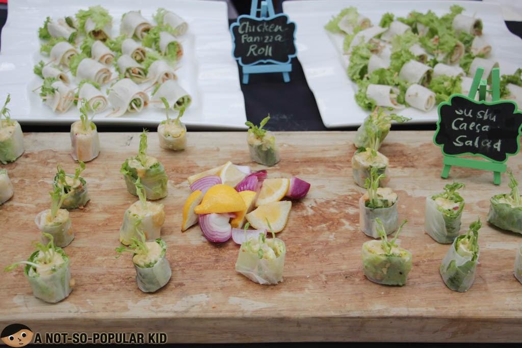 Sushi Chicken Salad