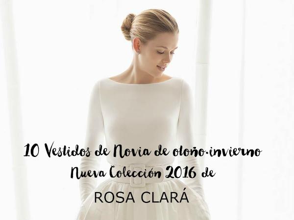 10 vestidos de otoño-invierno 2016 de Rosa Clará