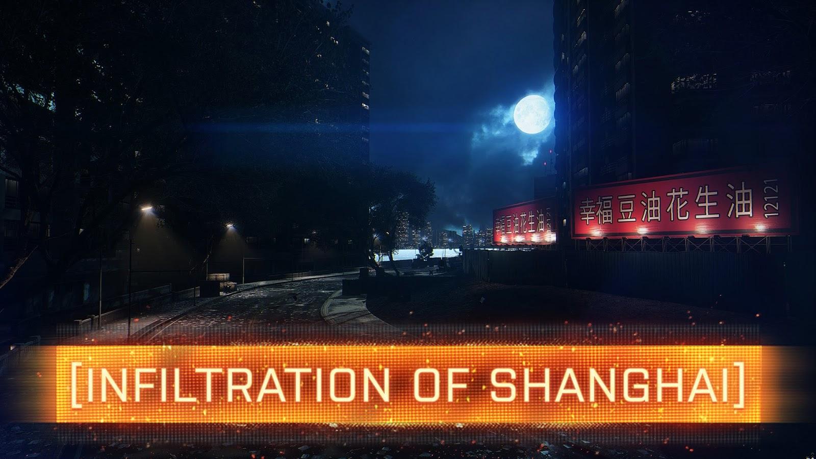 Mapa noturno Infiltration of Shanghai para Battlefield 4 está 99% finalizado
