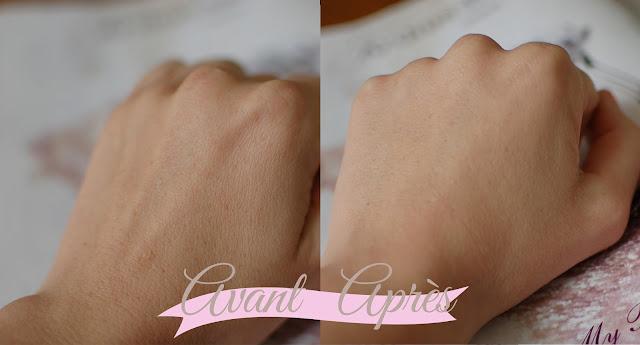 bb crème - vichy - idéalia - teinte claire - tube rose - swap - avant - après