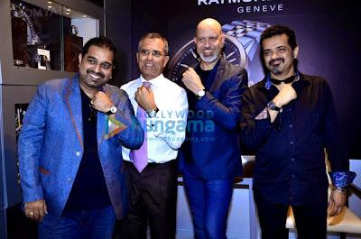 Shankar Mahadevan, Ehsaan, Loy Mendonsa at 'Raymond Weil' store launch event