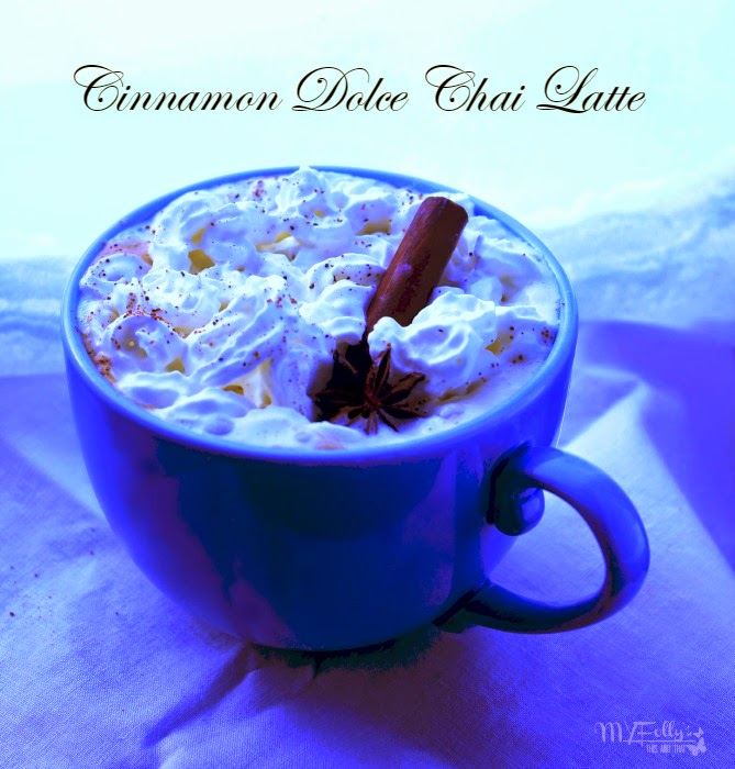 Cinnamon Dolce Chai Latte / This and That  #tea #chailatte
