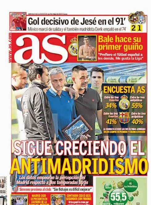 diario As antimadridista