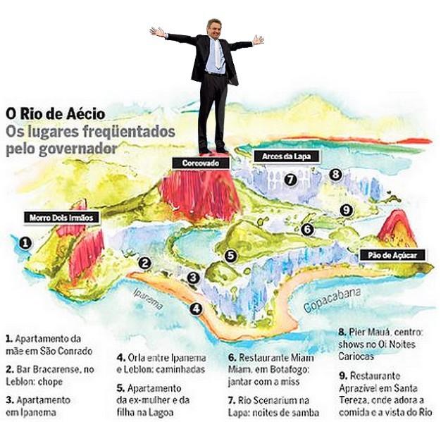 Aécio Neves, o cambaleante senador, sozinho, tem 25 assessores