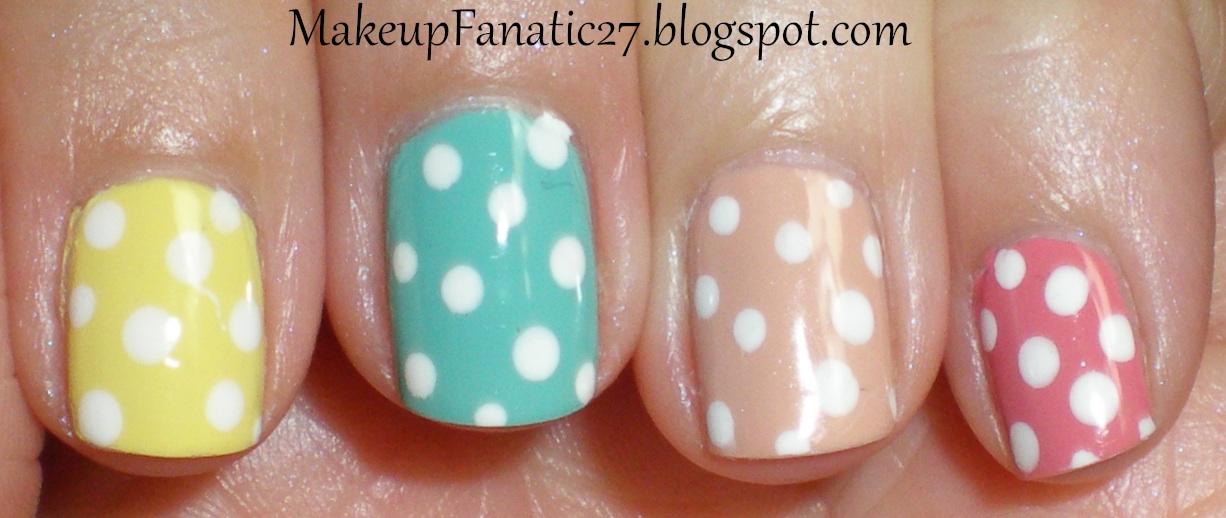 Liz Hearts Beauty Cute Simple Easter Nails