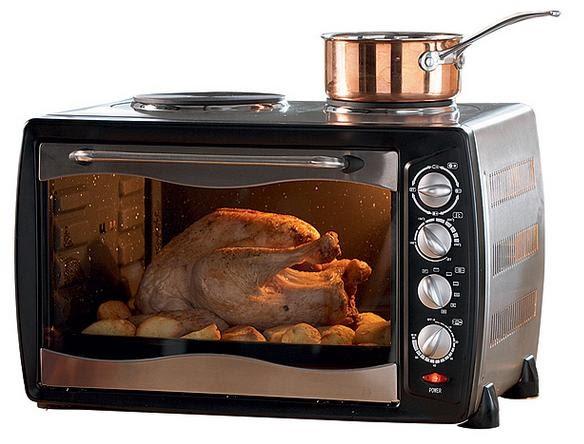 El horno en paraguay hornos electricos de mesa for Hornos de cocina electricos