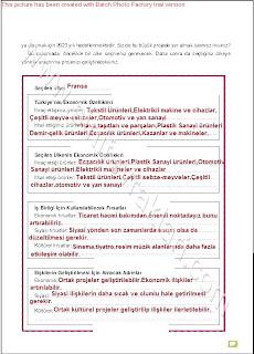 6. Sınıf Sosyal Bilgiler Altın Yayınları Öğrenci Çalışma Kitabı Cevapları Sayfa 97