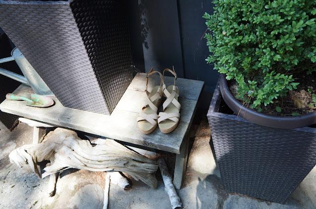 Joe Fresh nude platforms / flatforms, Muskoka, Greenery, Plants, Gardening Tools, Drift woof
