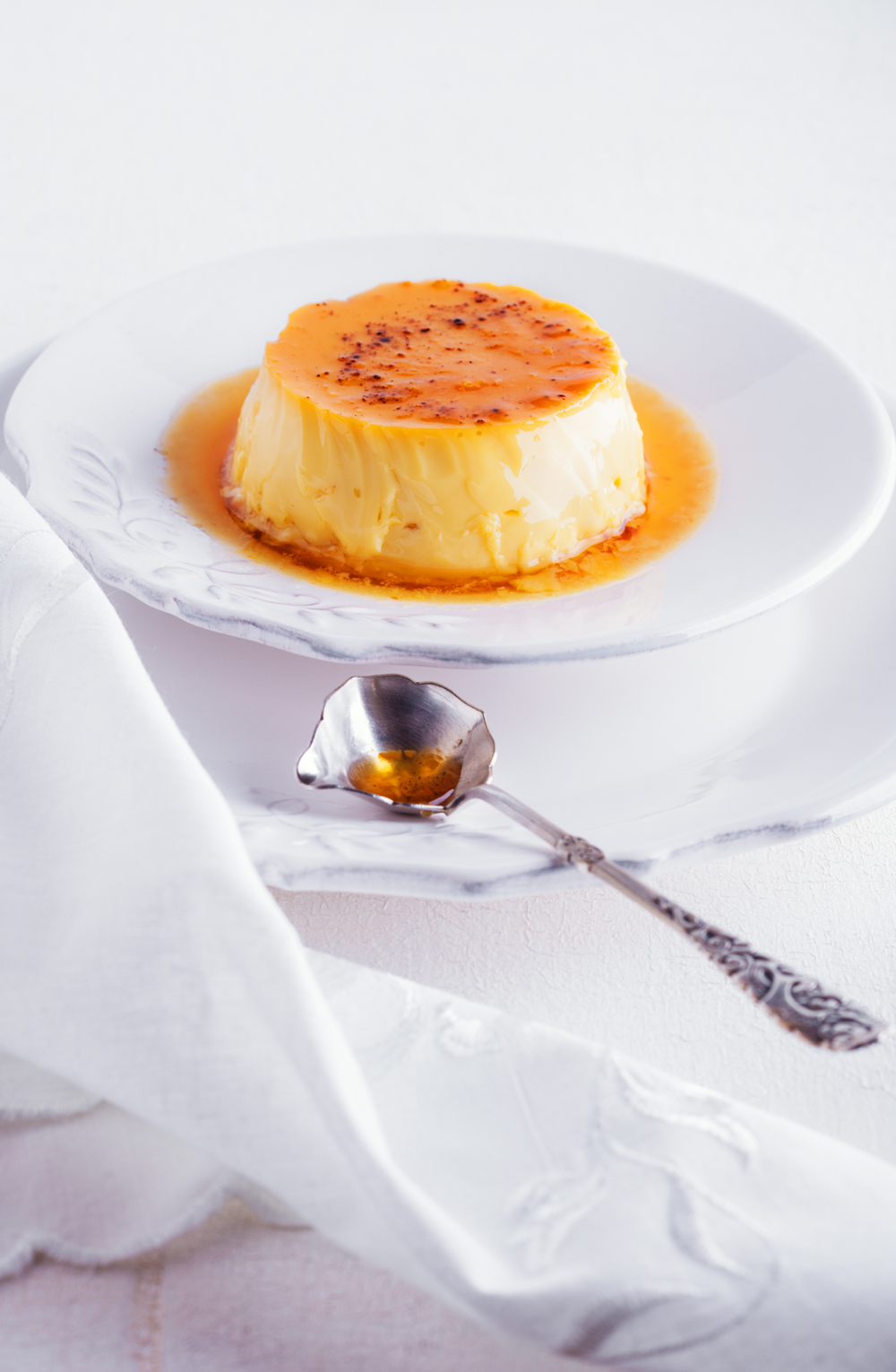 Classic creme caramel recipe via fashioned by love / british fashion blog