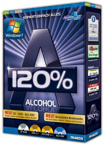 Alcohol 120% 2.0.3 Build 6732 Final sale