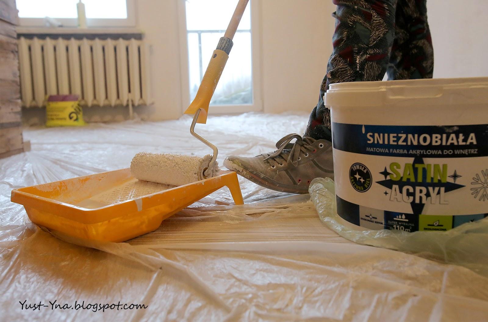 malowanie ścian krok po kroku