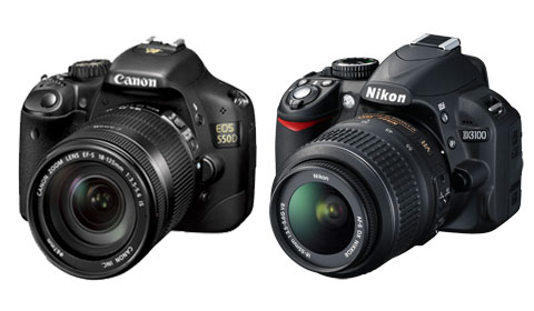 canon 550D & nikon D3100 best seller SLR camera