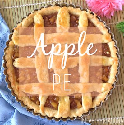 apple pie, resep apple pie, apel