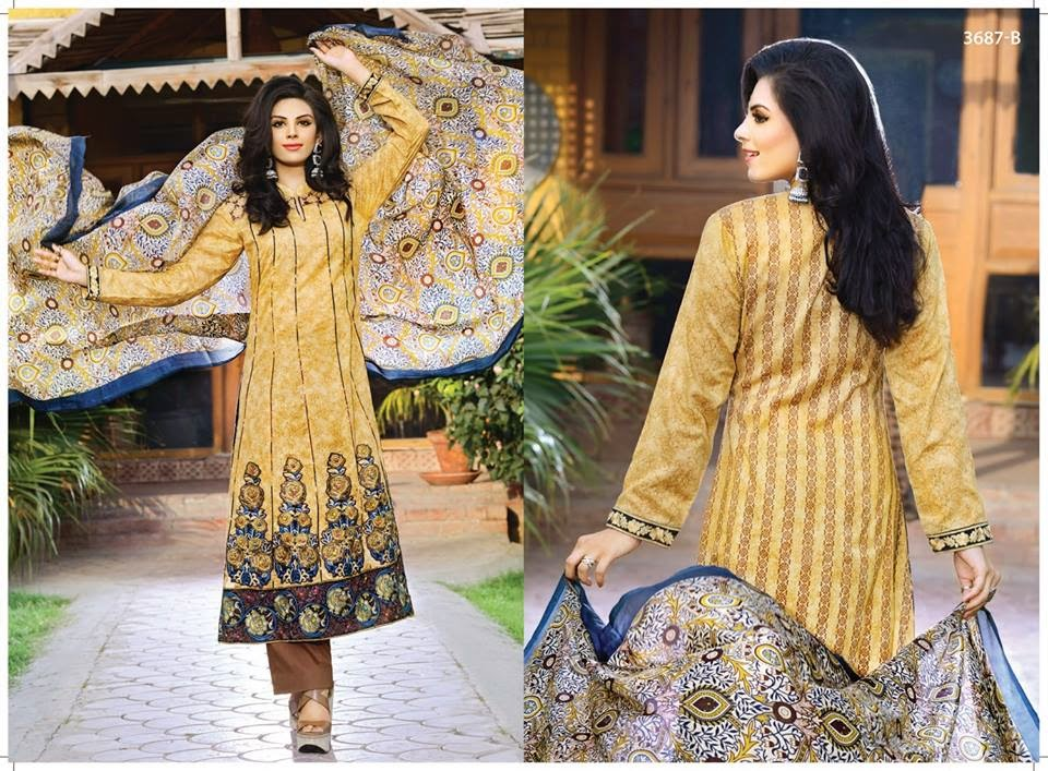 Pakistani Embroidered Dresses