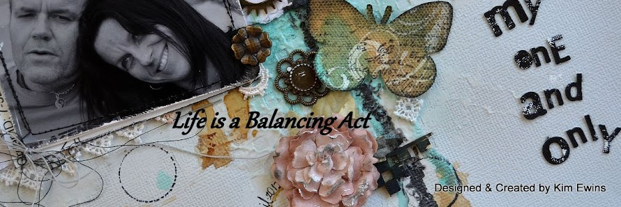 Life is a Balancing Act.