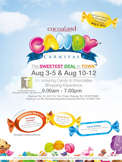 Cocoaland Candy Carnival Sale 2012