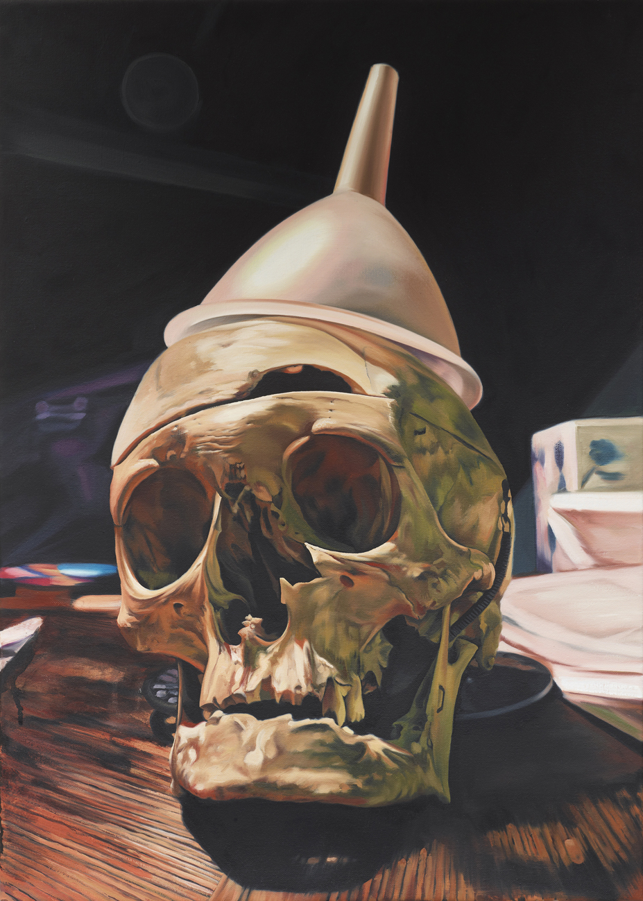 Doctor Ojiplatico. Till Rabus. Pintura