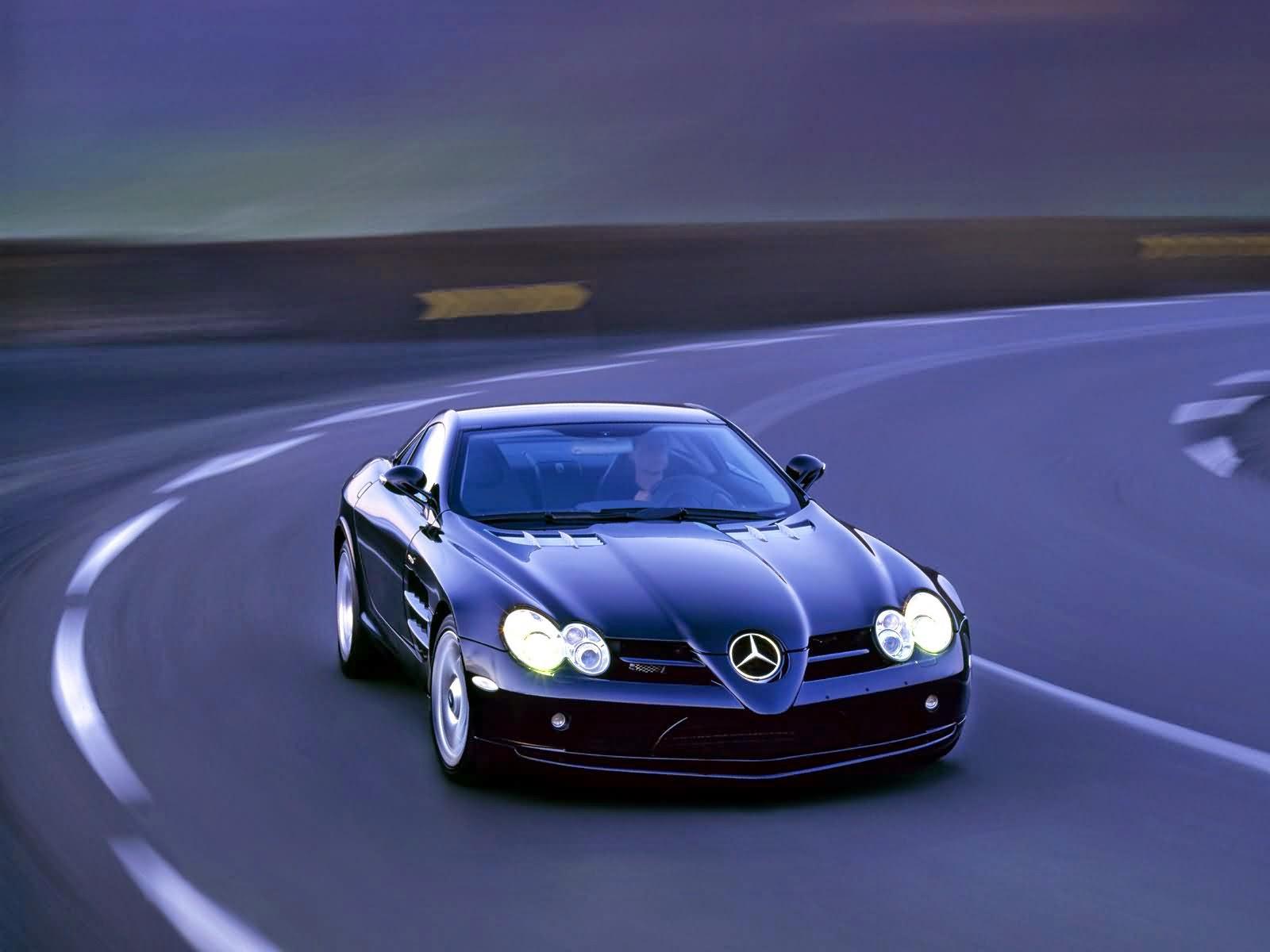 Mercedes Benz Slr Sports Car