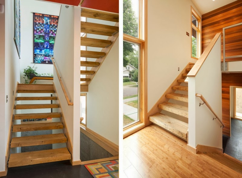wood stairs design