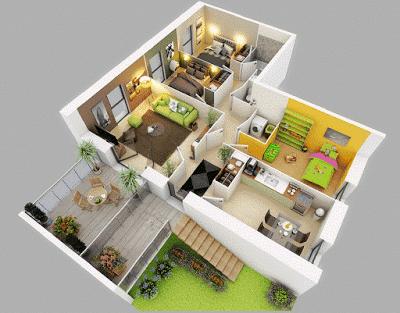 Bentuk Istimewa Gambar Desain Grafis Rumah Minimalis Modern