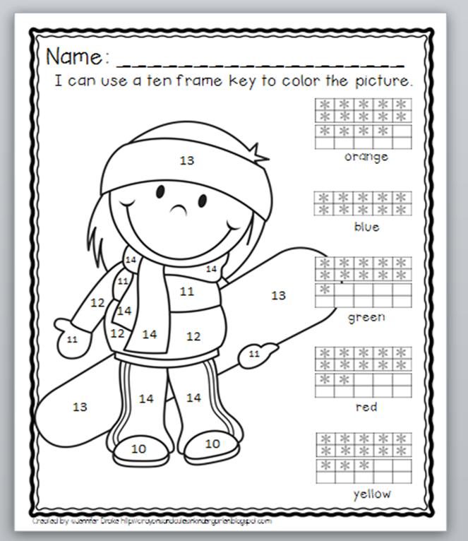 math worksheet : kindergarten math numbers 10 20  k5 worksheets : Ten Frame Worksheets Kindergarten