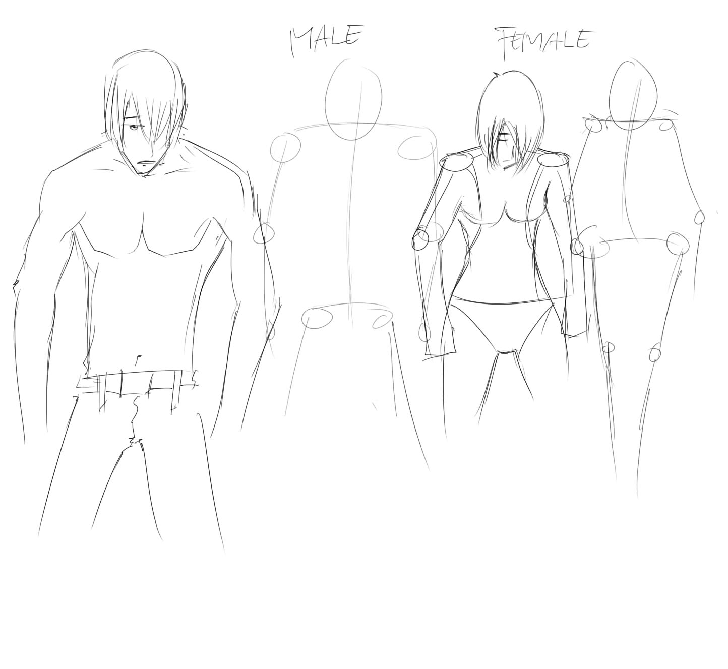 How To Draw Man...