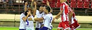 CRB 0 x 3 Bahia: Veja os gols