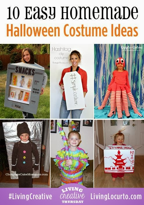 The Mommies Network: Easy Halloween Costume Ideas #costumes #Halloween