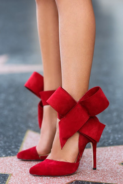 Enjoy a Statement Look with Aminah Abdul-Jillil Bow Shoes