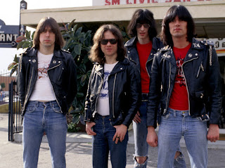 Los Ramones con sus eternas chupas