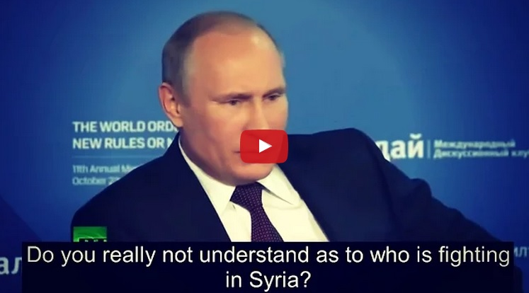 Must Watch: Putin Blows The Whistle On Who Really Created ISIS And How It Continues To Grow